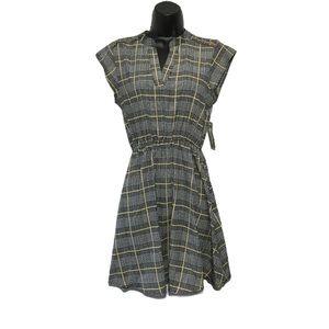 NWT Sweet Rain Plaid Tartan Fit & Flare Dress S